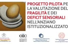 progetto pilota sui deficit sensoriali