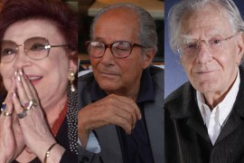 Nilla Pizzi, Gillo Pontecorvo e Gianrico Tedeschi Premio Cornaro 2002