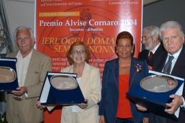 Antonella Steni, Paolo Ferrari e Sergio Zavoli Premio Cornaro 2004