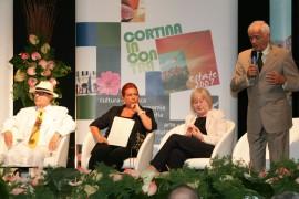 Natalia Aspesi, Oreste Lionello, Ferruccio Soleri Premio Alvise Cornaro 2007
