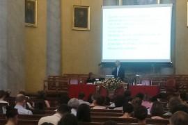 lectio magistralis del prof. renzo scortegagna al VIII Convegno Nazionale di Psicologia dell'Invecchiamento